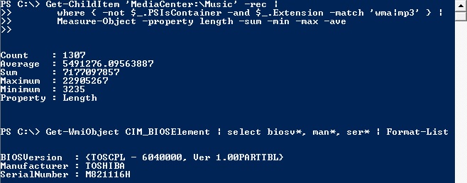 Windows Power Shell #4