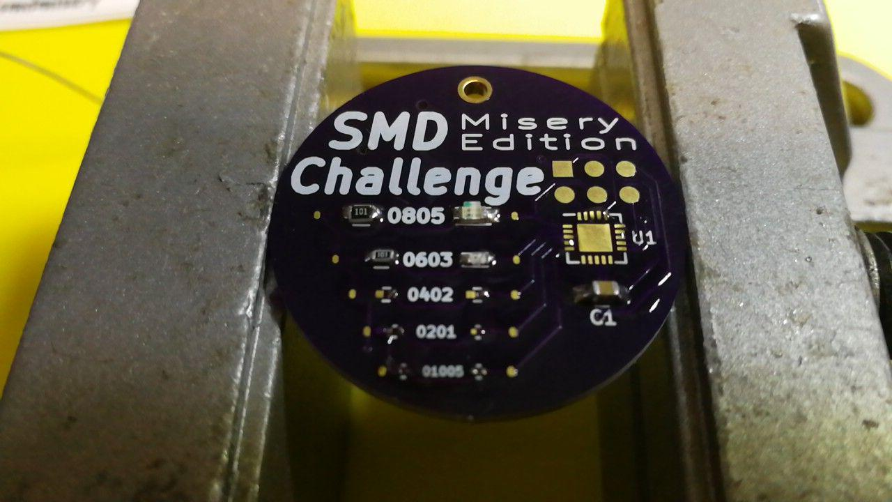 SMD Challenge: Misery Edition